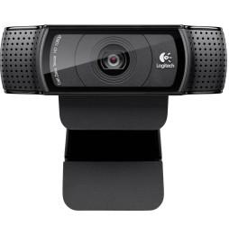 Logitech HD Pro Webcam C920 Refresh - Full HD 1080p avec deux microphones intégrés