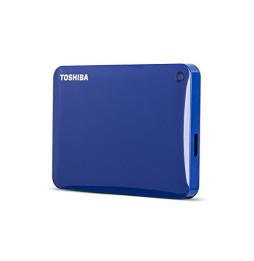 Disque dur externe Toshiba Canvio CONNECT II - 1TB USB 3.0 Bleu