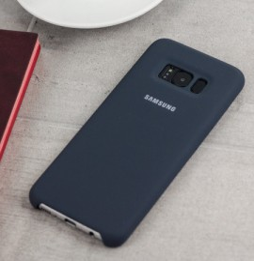 Silicone Cover pour Samsung Galaxy S8 Plus (EF-PG955TSEGWW)