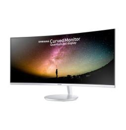 "Moniteur Samsung incurvé 34"" Full HD avec technologie Quantum Dot (LC34F791WQM)"