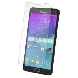 Protection écran Glass-Protector Silicone pour Samsung Note 4 (0.4 mm)
