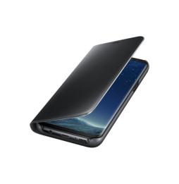 Étui Clear View Fonction Stand pour Samsung Galaxy S8 plus