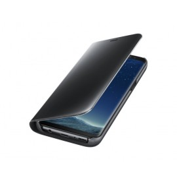 Étui Clear View Fonction Stand pour Samsung Galaxy S8