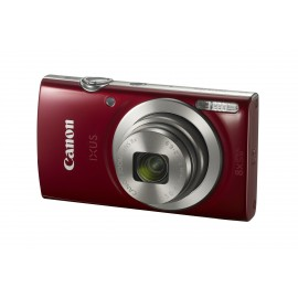 Appareil photo Compact Canon Ixus185 – Rouge (1809C001AA)