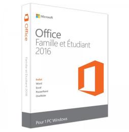 Microsoft Office Famille et Étudiant 2016 pour Windows – Français (79G-04602)