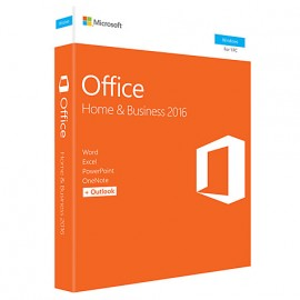 Microsoft Office Home and Business 2016 pour Windows – Anglais (T5D-02717)