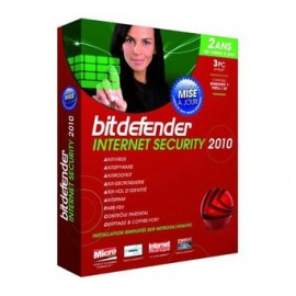 Bitdefender Internet Security 2010 - 3 Postes (B-FBDISPW2P003)