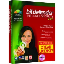 Bitdefender Internet Security 2011 (B-F1BDIS1W2P003)