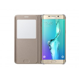 S View Cover Samsung Pour Galaxy S6 Edge+ (EF-CG928PFEGWW)