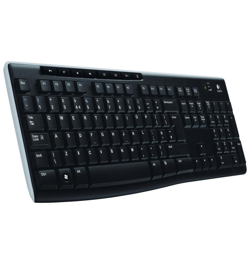 Clavier Logitech Wireless Keyboard K270 - AZERTY