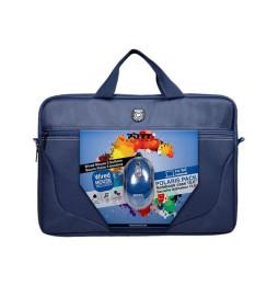 "Mallette Port Designs POLARIS II Bleu 15""+ Souris USB (501732)"