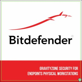 Bitdefender GravityZone Security for Endpoints Physical Workstations (1 an)