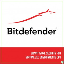 Bitdefender GravityZone Security for Virtualized Environments CPU (1 an)