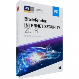 Bitdefender Internet Security 2018 1 AN 1 PC