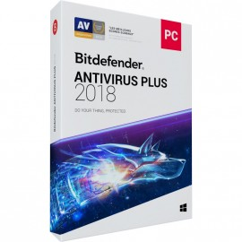 Bitdefender Antivirus Plus 2018 1 AN 3 PC