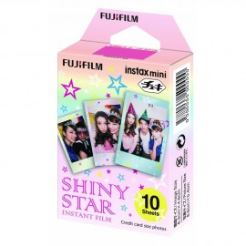 Film Appareil FujiFilm Instax Mini Shiny Star - Pack de 10 pose