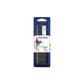 Barrette memoire ADATA DDR1 400 UDIMM 64X8 1GB 3 SINGLE TRAY (ADAT-ADIU400A1G3-S)