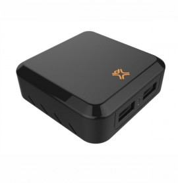 Chargeur XtremeMac - Double Port USB 2,4 / 12W - Noir (IPU-IHL2-13)