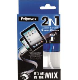 Nettoyant Felowes pour écran 2 en 1 50ml avec chamoisine (9922301)