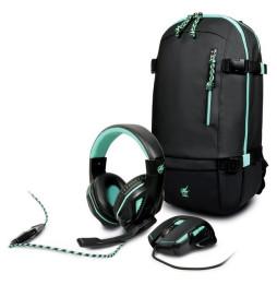 Pack Gaming AROKH PortDesigns - Sac à dos BP-1 + Souris X-1 + Casque H-1