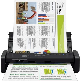 Scanner portable Epson WorkForce DS-360W avec Wi-Fi et batterie (B11B242401)