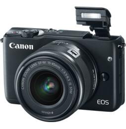 Appareil photo Canon EOS M10 - Compact Hybride + 15-45 mm (0584C012AA)