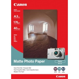 Papier Photos Canon MP-101 - 40 feuilles A3 de 170 g/m² (7981A008AC)
