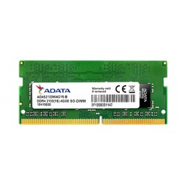 Barrette Mémoire ADATA DDR4 SO-DIMM 8GB 2133 (15) - 1024MX8 - Pc Portable (AD4S213338G15-S)