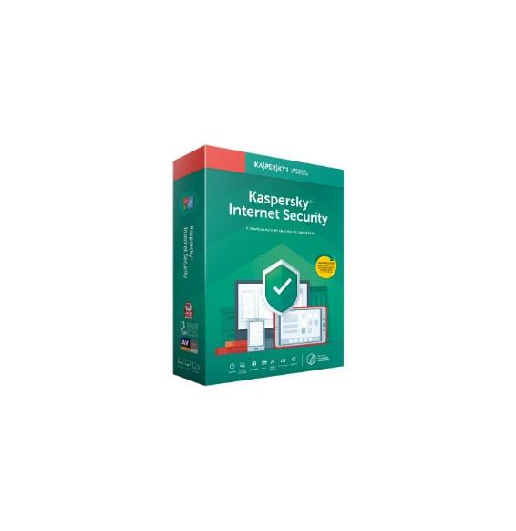 Kaspersky Internet Security 2019 - 10 Postes / 1 An / Multi Appareils