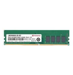 Barrette mémoire Transcend DDR4-2666 U-DIMM 1Rx8 1,2V - Pc Bureau (JM2666HLH-4G)