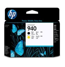 Tête d'impression Officejet noire et jaune HP 940 (C4900A)