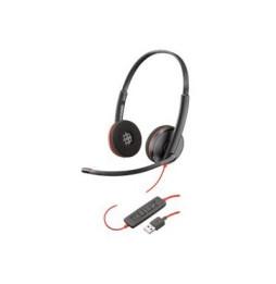 Micro casque filaire Plantronics Blackwire C3220 Binaural USB-A