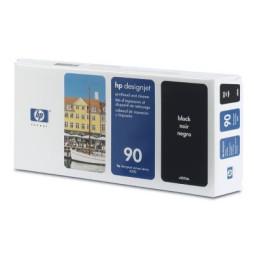 Tête d'impression noire et dispositif de nettoyage HP 90 (C5054A)