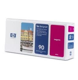 Tête d'impression et dispositif de nettoyage magenta HP 90 (C5056A)