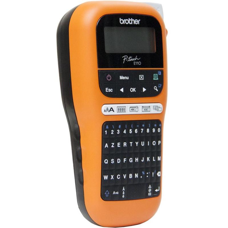 Etiqueteuse professionnelle portable Brother PT-E110VP