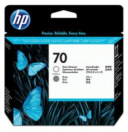 Tête d'impression grise et optimiseur de brillance HP 70 (C9410A)