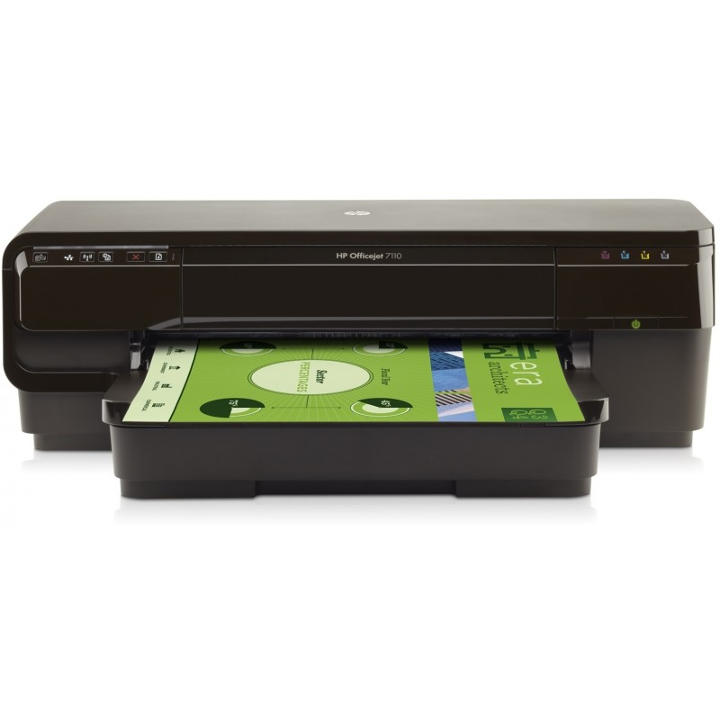 Imprimante Jet d'encre grand format A3+ HP Officejet 7110 (CR768A)