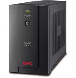 Onduleur Line-Interactive APC 1400VA BACK-UPS (BX1400U-FR)