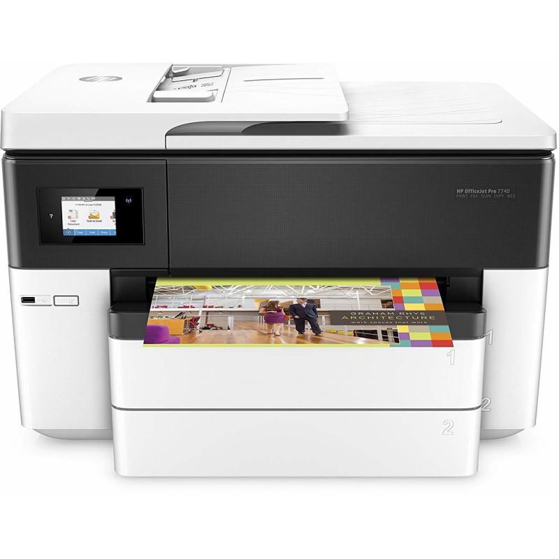 Imprimante A3 Multifonction Jet d'encre HP OfficeJet Pro 7740 (G5J38A)