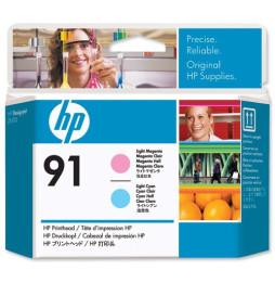Tête d'impression magenta clair et cyan clair HP 91 (C9462A)
