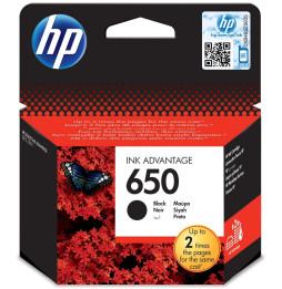 Cartouche d'encre noire HP 650 (CZ101AE)