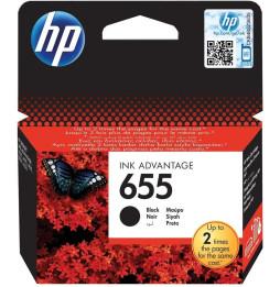Cartouche d'encre noire HP 655 (CZ109AE)