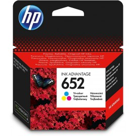 Cartouches Ink Advantage HP 652 trois couleurs (F6V24AE)