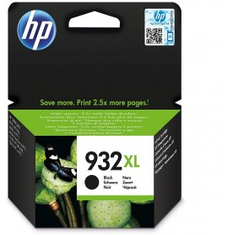 HP 932XL cartouche d'encre noir grande capacité authentique (CN053AE)