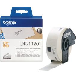 Étiquettes Brother d'adressage standard 29x90 mm (400 étiquettes par rouleau) (DK11201)