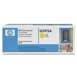 Cartouche d'encre jaune HP LaserJet 123A (Q3972A)