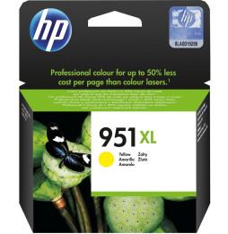 Cartouche d'encre Officejet jaune HP 951XL (CN048AE)