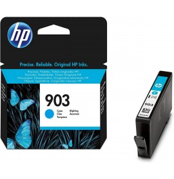 HP 903 Cyan - Cartouche d'encre HP d'origine (T6L87AE)