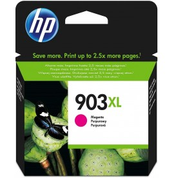 HP 903XL Magenta - Cartouche d'encre grande capacité HP d'origine (T6M07AE)