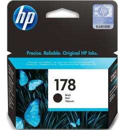HP 178 Noir - Cartouche d'encre HP d'origine (CB316HE)